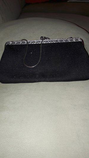 kl. schw. Abendtasche  in schwarz