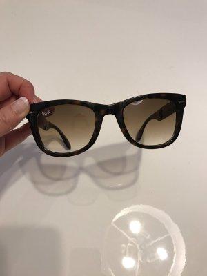 Klappbare Ray Ban Sonnenbrille braun
