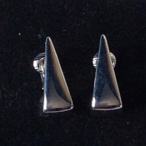 Pierre Lang Pendientes tipo aro color plata metal
