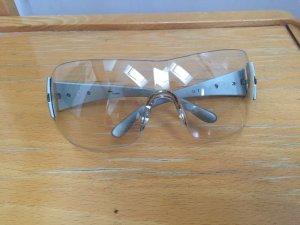Klare Sonnenbrille