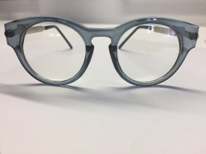 Glasses grey-slate-gray