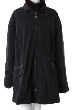 Klassic Kemper Mantel Pelz braun schwarz