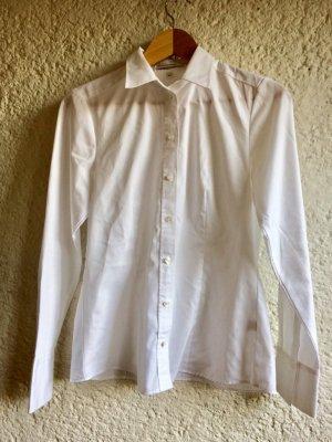 Klassiche weiße Bluse von Seidensticker