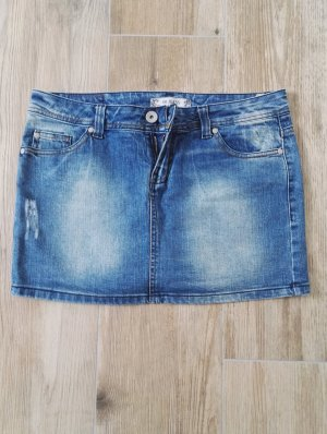 klassicher Jeans-Rock / Minirock / Größe 36 - 38