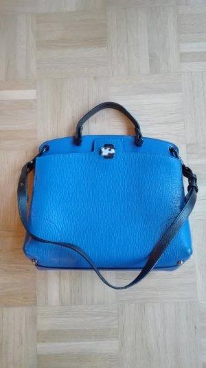 Klassiker: Furla Handtasche in blau