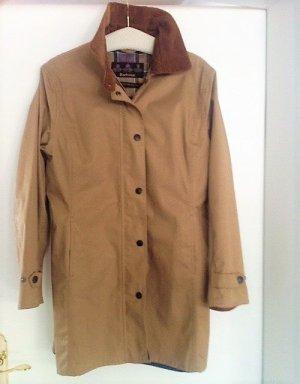 Barbour Manteau court brun sable-brun coton