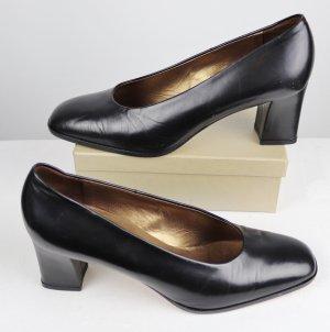 Peter Kaiser Loafers zwart-goud Leer