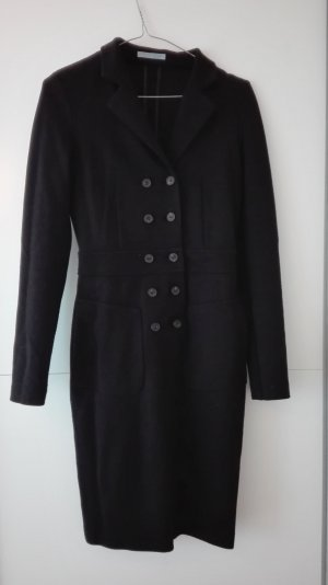 Strenesse Blue Gabardina tipo vestido negro tejido mezclado