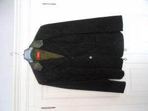Klassisch: Schöner Blazer aus Cord, Gr. 36/38; dunkelgrün