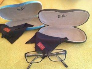 klassisch schwarze Ray-Ban Brille