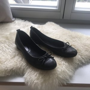 Tamaris Mary Jane Ballerinas black