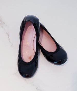 Pretty ballerinas Lakleren ballerina's zwart Leer