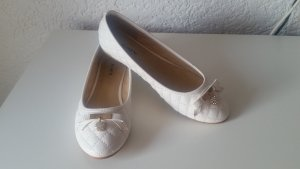 Klassische Ballerinas, weiß, 38