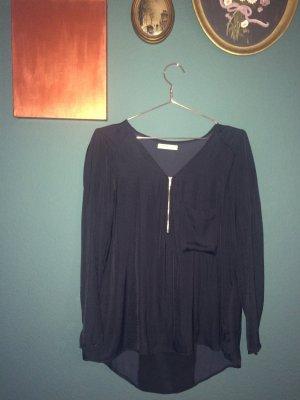 Klassische Bluse | schwarz