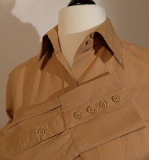 Klassische Bluse ZARA BASIC Gr.M braun