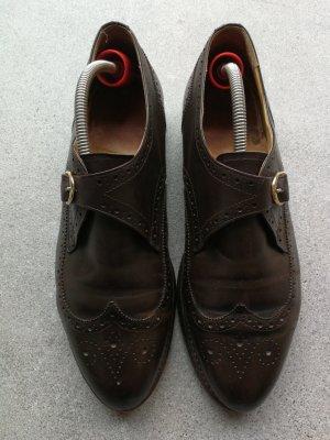 Ludwig Reiter Wingtip Shoes dark brown
