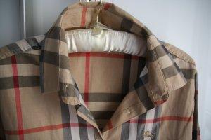 Klassische Burberry London Bluse im Brit-Muster