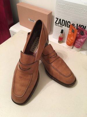 Fratelli rossetti Pantofola cognac-marrone scuro