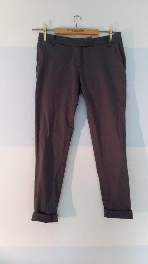 Conleys Pantalone chino grigio scuro-antracite Cotone