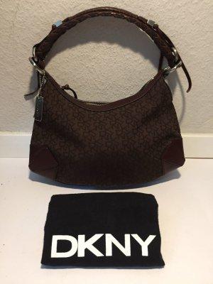 Klassische DKNY Donna Karan Handtasche mit Monogramm