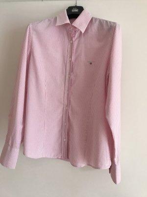 Klassische Gant Oxfort Bluse rose/weiß