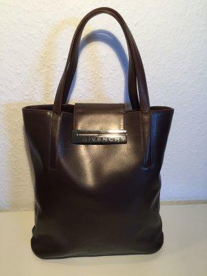 Klassische GIVENCHY Handtasche braunes Leder