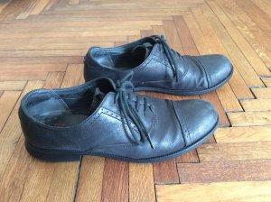 Camper Budapest schoenen donkerblauw-zwart Leer
