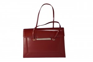 DKNY Carry Bag carmine leather