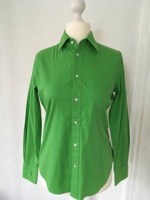 Klassische Hemdbluse von Ralph Laueren in grün - Größe 40