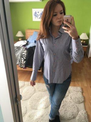 Klassische,hochwertige,gestreifte Bluse