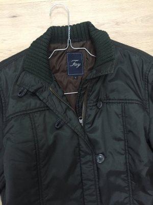 Klassische Jacke von Fay eleganten Dunkelgrün Größe L