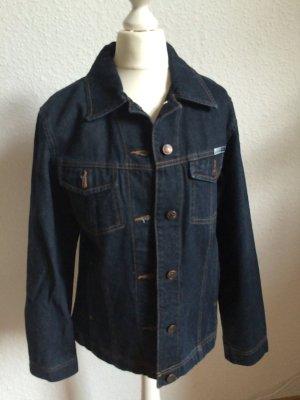 Klassische Jeansjacke im Boyfriendstyle - dunkelblau