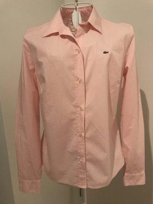 Klassische Lacoste Bluse rosa, 38