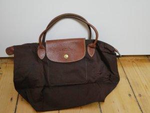 Klassische Langchamp Tasche in braun - klein
