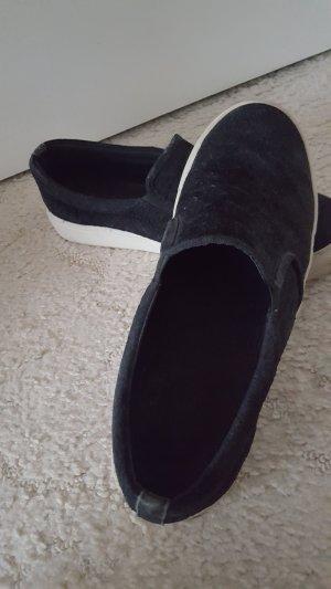 Klassische Leder Slipper