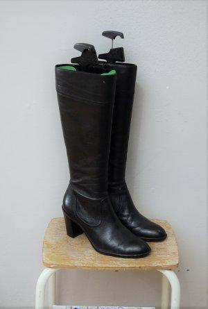 Klassische Leder Stiefel