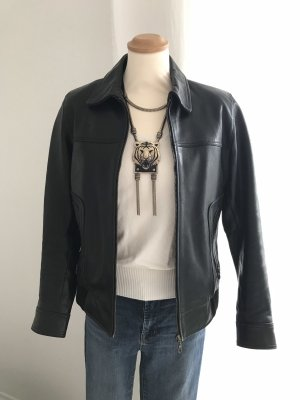 Camera Leather Jacket black