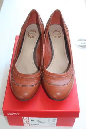 Klassische Lederpumps