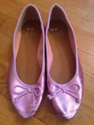 Klassische lila Ballerina-kaum getragen!