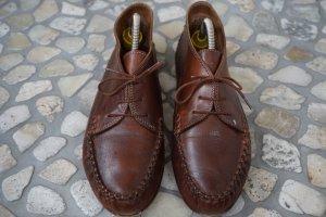 Vera Gomma Moccasins brown-dark brown leather