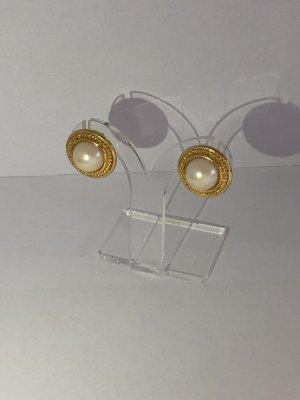 Klassische Perlenstecker mit Kunstperle
