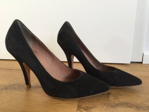 3 Suisses High Heels black leather