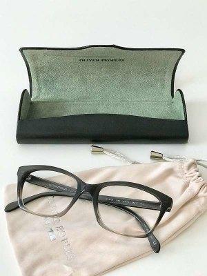 Klassische Retro Brillenfassung unisex in Grau
