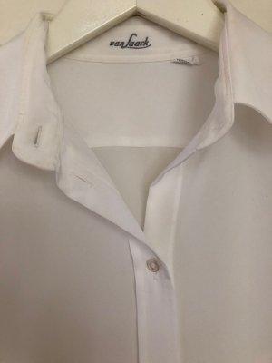 Klassische, schöne, weiße Bluse von Van Laack - Gr. 38 - neuwertig