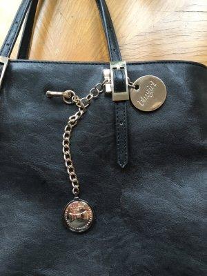 Klassische, schwarze Handtasche von Blumarine