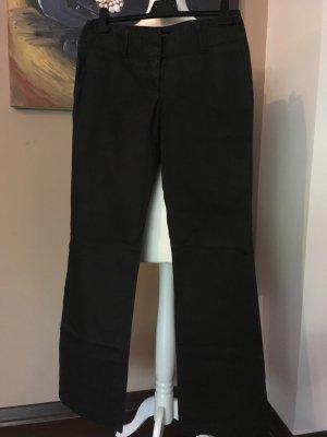 Hugo Boss Low-Rise Trousers black cotton