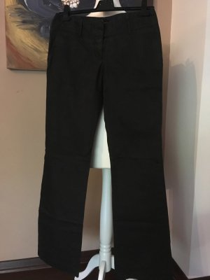 Hugo Boss Low-Rise Trousers black cotton
