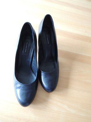 Belmondo High Heels black leather