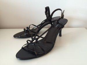 klassische schwarze Sandalette von Belmondo, Gr.41 - ungetragen!