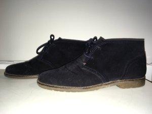 Klassische Velours-Leder Schuhe